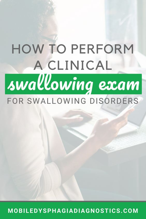 How to Perform a Clinical Swallowing Exam - for the medical SLP. Click the pin to read more. #medSLP #dysphagia #SLPeeps