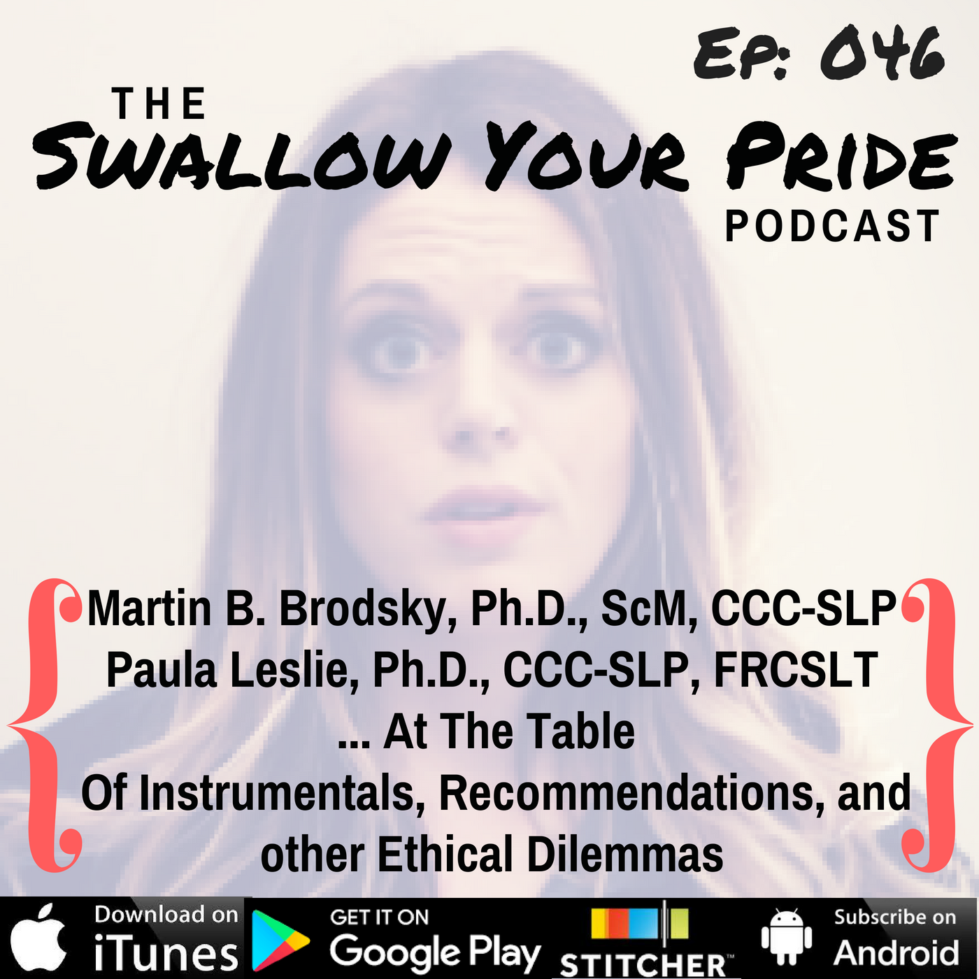 046 – Martin B. Brodsky, Ph.D., ScM, CCC-SLP  and Paula Leslie, Ph.D., CCC-SLP, FRCSLT … At The Table Of Instrumentals, Recommendations, and other Ethical Dilemmas