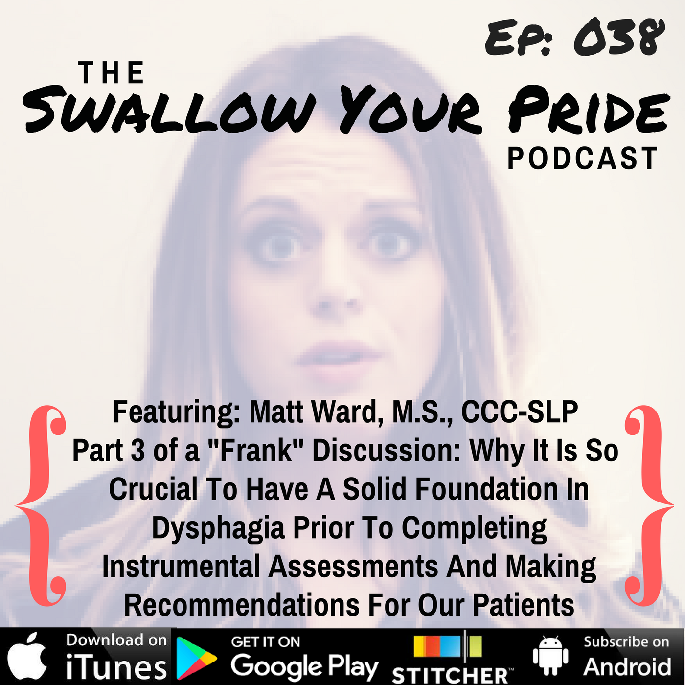 """038 – Matt Ward, M.S., CCC-SLP – Part 3 of a """"Frank"""" Discussion: Why It Is So Crucial To Have A Solid Foundation In Dysphagia Prior To Completing Instrumental Assessments And Making Recommendations For Our Patients"""