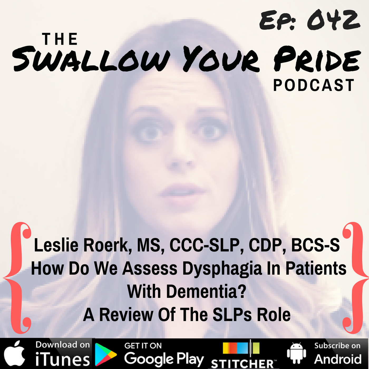 042 –  Leslie R. Roerk, M.S., CCC-SLP, CDP, BCS-S – How Do We Assess Dysphagia In Patients With Dementia? A Review Of The SLPs Role