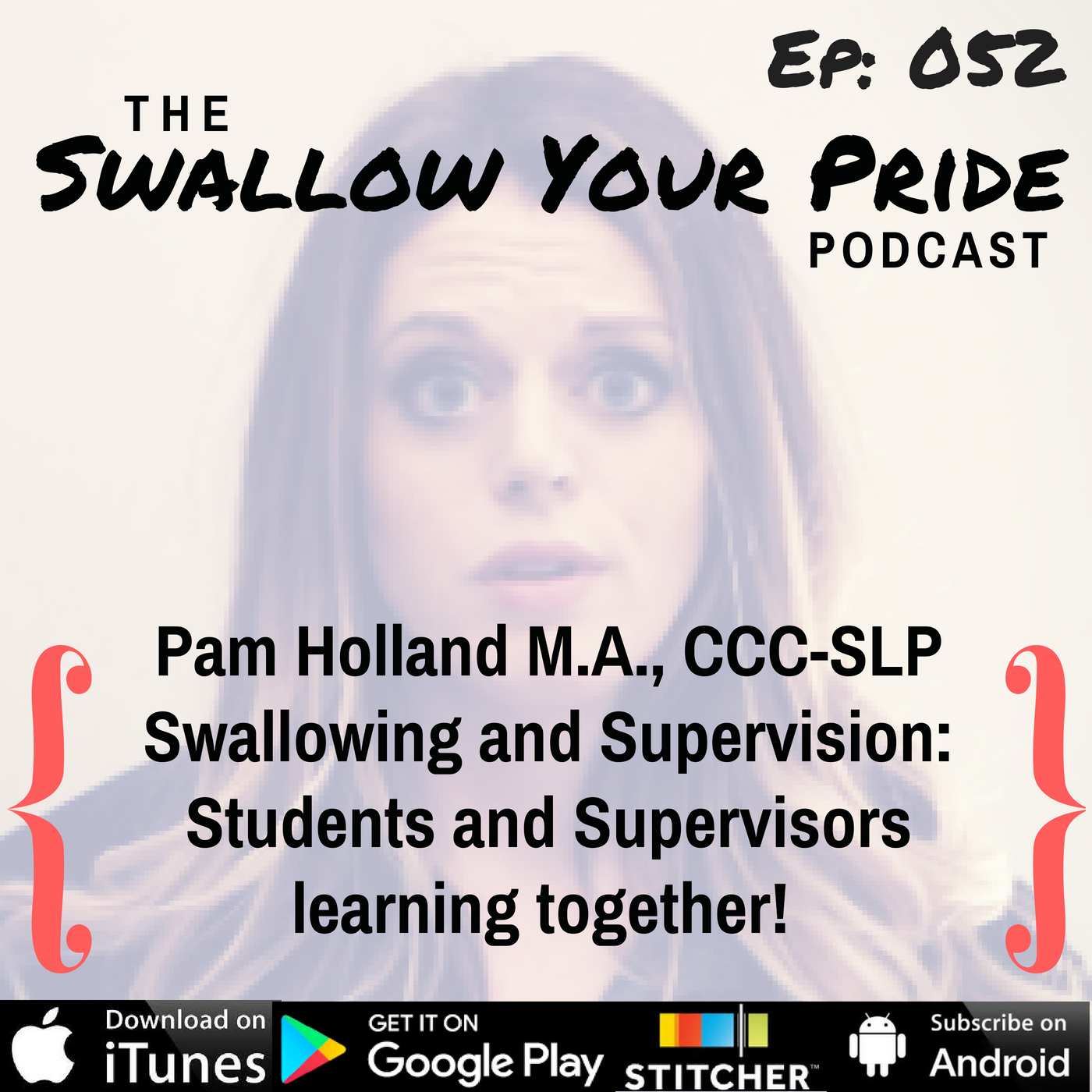 052 – Pam Holland M.A., CCC-SLP – Swallowing and Supervision: Students and Supervisors learning together!