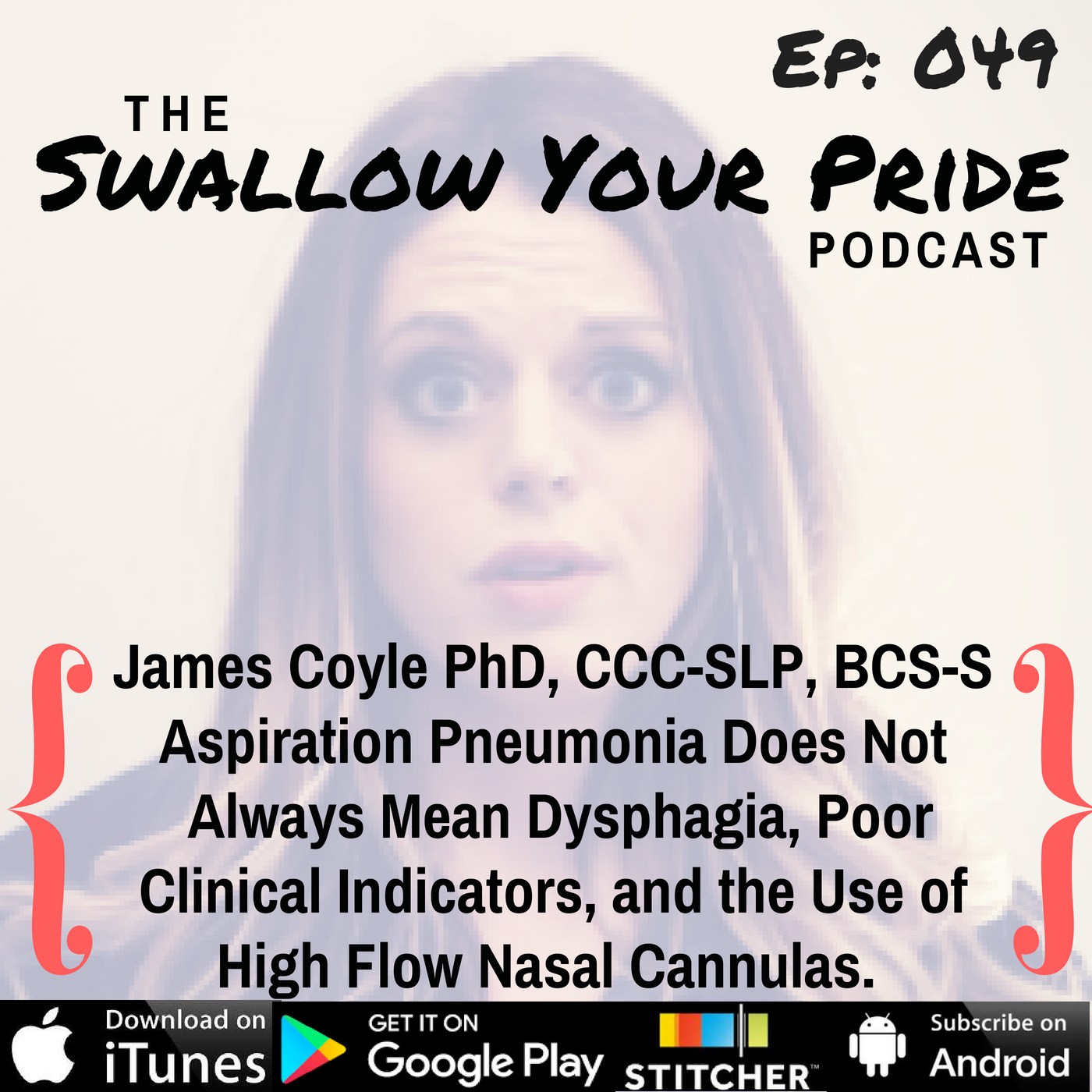 049 – James Coyle PhD, CCC-SLP, BCS-S, ASHA Fellow – Aspiration Pneumonia Does Not Always Mean Dysphagia, Poor Clinical Indicators, and the Use of High Flow Nasal Cannulas
