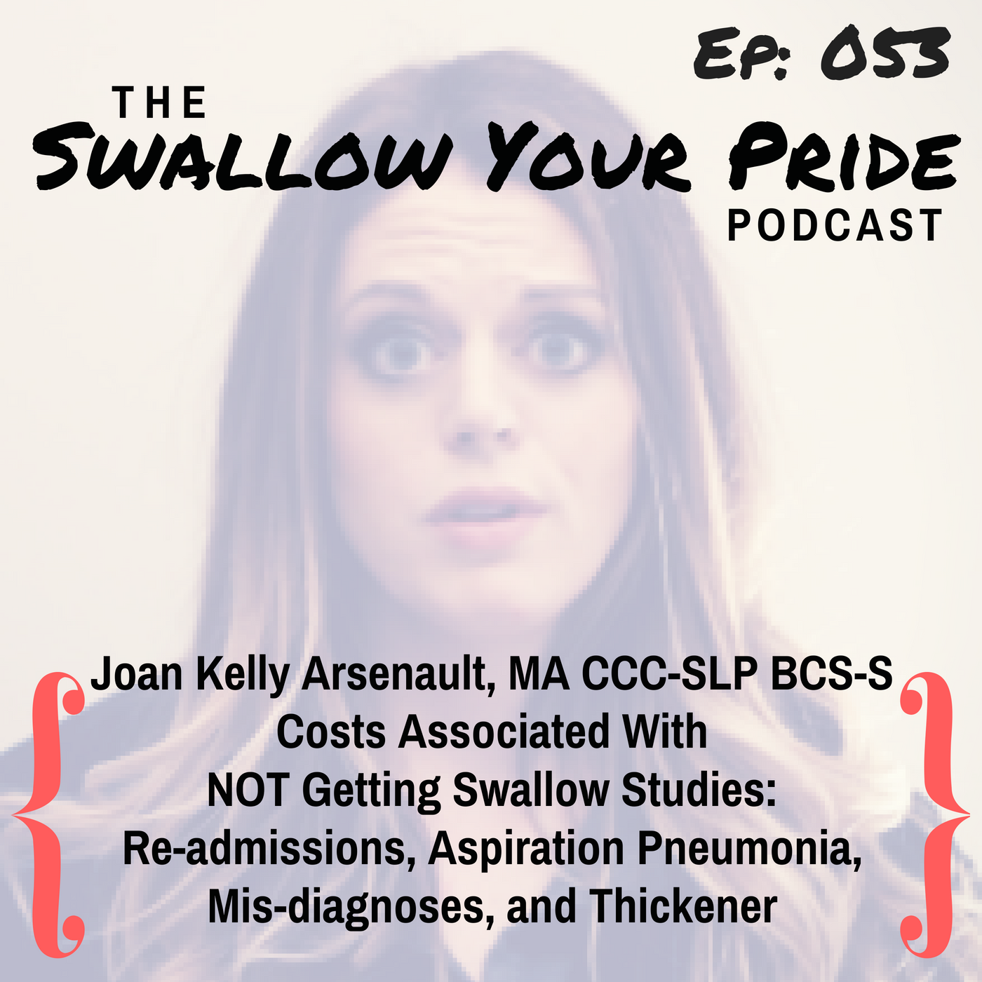 053 – Joan Kelly Arsenault, MA, CCC-SLP, BCS-S – Costs Associated With  NOT Getting Swallow Studies:  Re-admissions, Aspiration Pneumonia,  Mis-diagnoses, and Thickener