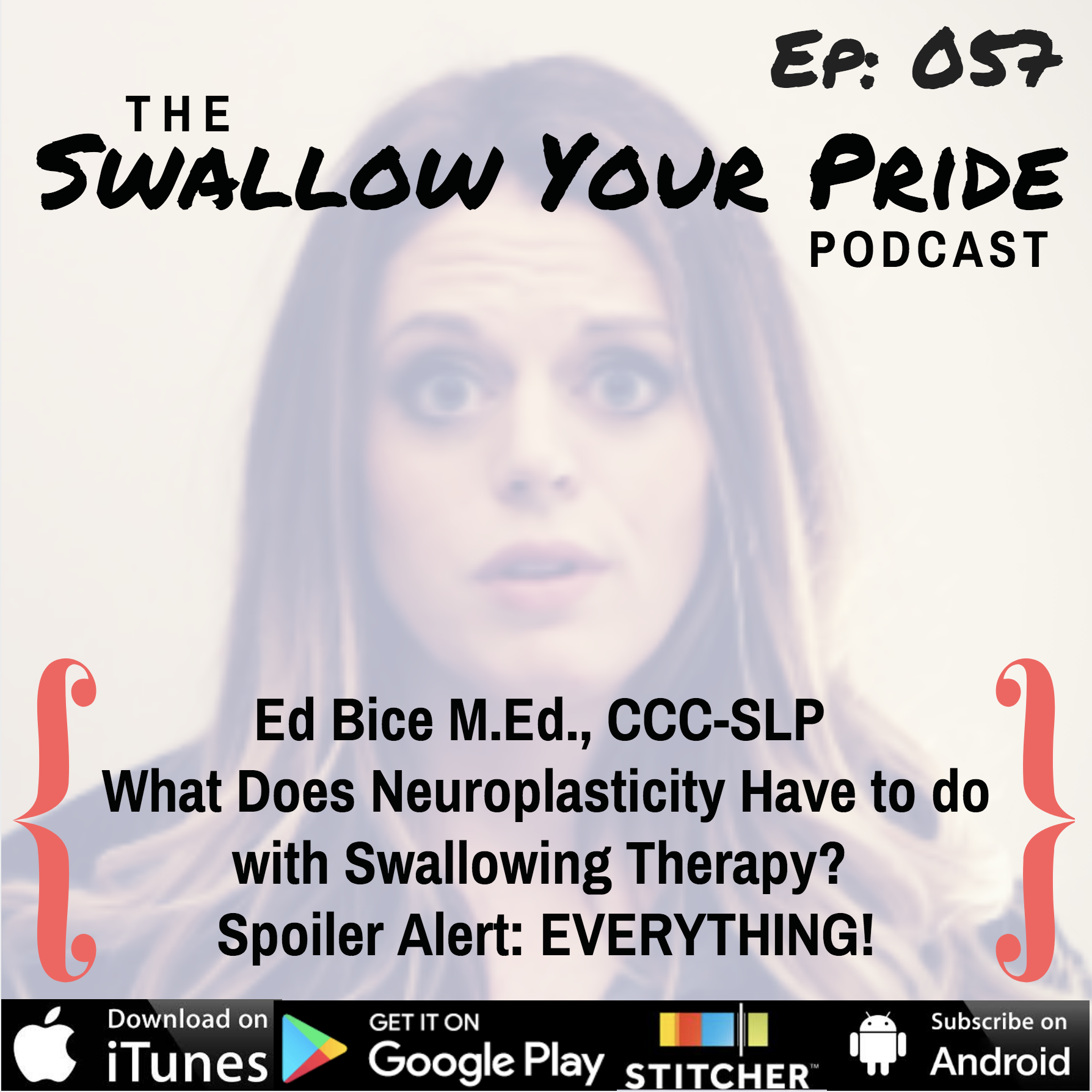 057 – Ed Bice M.Ed., CCC-SLP – What Does Neuroplasticity Have to do with Swallowing Therapy? Spoiler Alert: EVERYTHING!