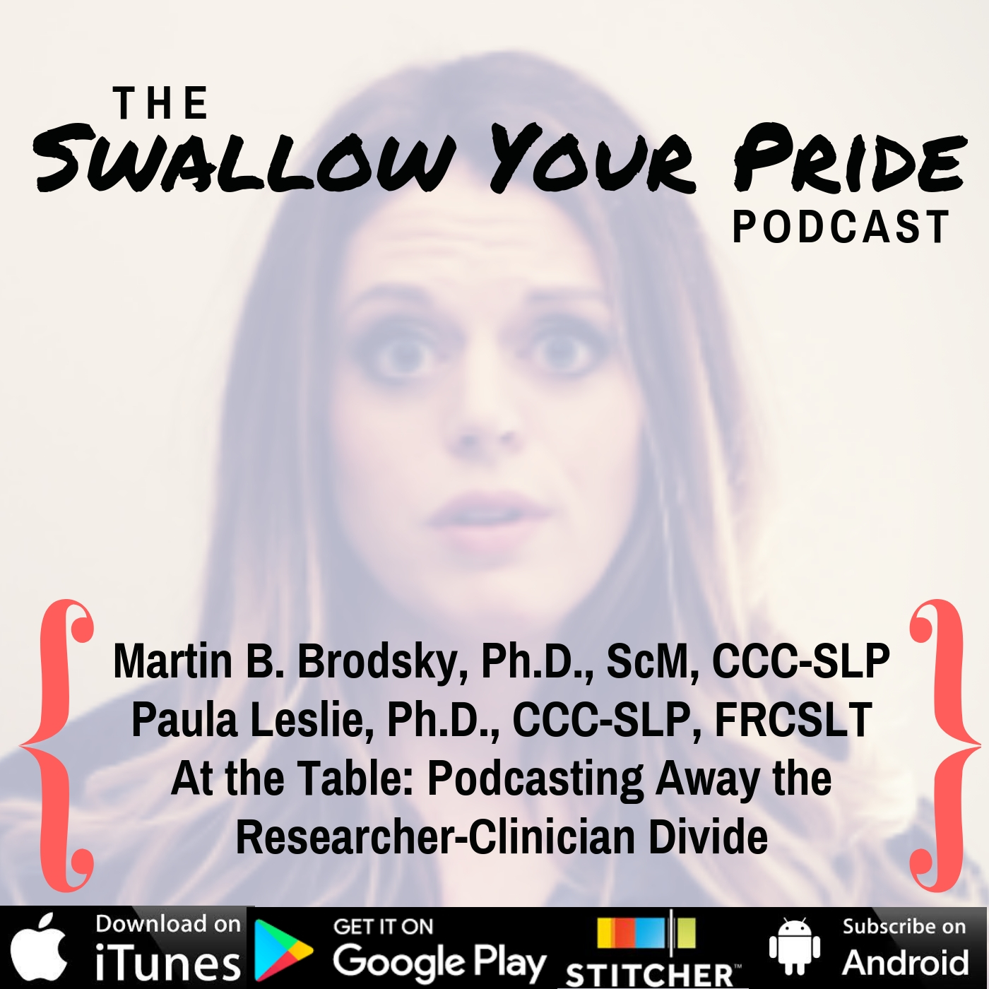 067 – Martin B. Brodsky, Ph.D., ScM, CCC-SLP and Paula Leslie, Ph.D., CCC-SLP, FRCSLT – At the Table: Blogging away the Researcher-Clinician Divide